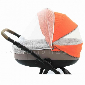 Коляска 3 в 1 Noordi Sole Sport NB, Orange Red 862