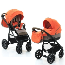 Коляска 2 в 1 Noordi Sole Sport, Orange Red 862